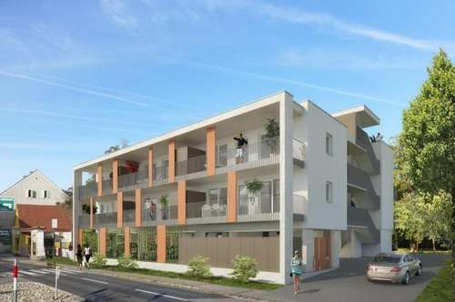 Jakomini - ERSTBEZUG - 35m² -  2 Zimmer Erdgeschoßwohnung mit Terrasse - Singlehit
