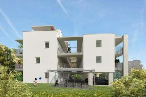 Jakomini - ERSTBEZUG - 49m² - 3 Zimmer Wohnung - großer Balkon - WG fähig - inkl. Carport