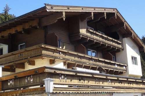 Ruhige Wohnung Panoramablick ins Tuxertal