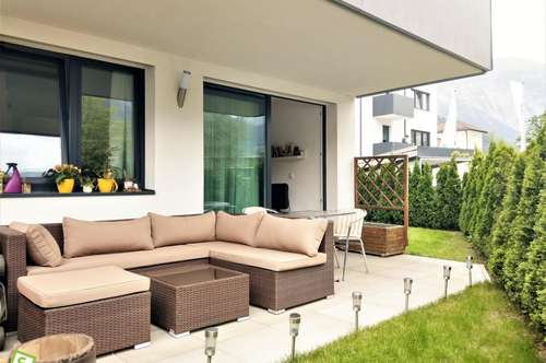 Schwaz - 2 Zimmer-Gartenwohnung