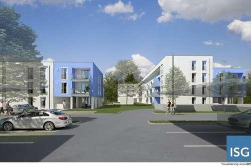 """Neubauprojekt """"living blue"""" in Braunau, Michaelistraße, Eigentumswohnung Top 35, Typ B"""
