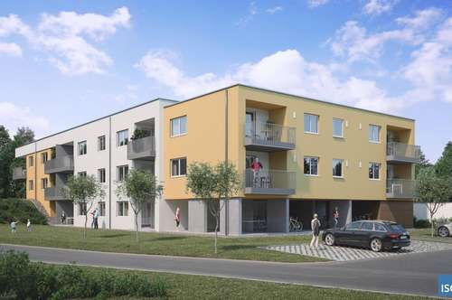 Neubauprojekt in Waizenkirchen, kompakte 2-Raumwohnung im Mietkauf-Modell, Top 6 u. 12