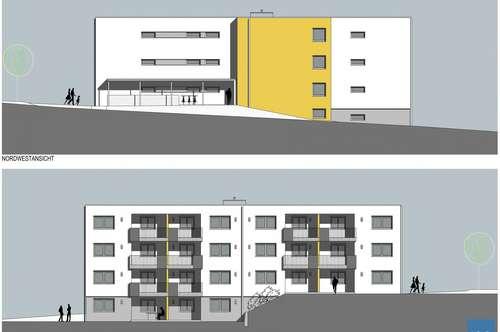 Mietwohnung Utzenaich, Neubau, 2-Zimmer
