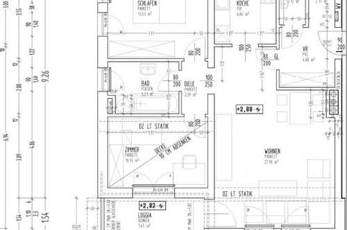 Objekt 338: Großzügige 3-Zimmerwohnung in Aurolzmünster, Top 10