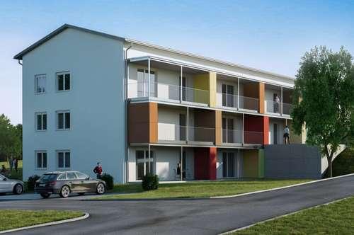Neubauprojekt in Weng im Innkreis, Zweizimmer-Eigentumswohnung Top 1