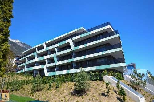 Geräumige 2-Zimmer-Neubau-Terrassen-Wohnung in attraktiver Ruhelage