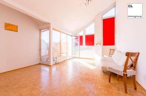 Zu vermieten in Mondsee - perfekt gegliederte 2-Zimmer-Wohnung mit großer Süd-West-Dachterrasse.