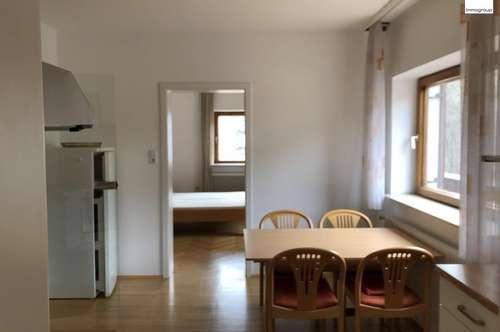 Idyllisches Wohnen am Alterbach! 3 - Zimmer Wohnung - 83 m2 - mit eigenem Garten und Balkon!!!