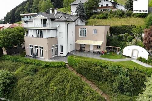 Traumhafte Villa mit freiem Panoramablick, Mondsseeblick und Schafbergblick - Absolute Traumlage oberhalb des Mondsees