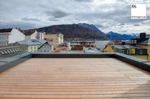 Erstbezug! Luxoriöse Penthousewohnung im Herzen von Gmunden zu vermieten.
