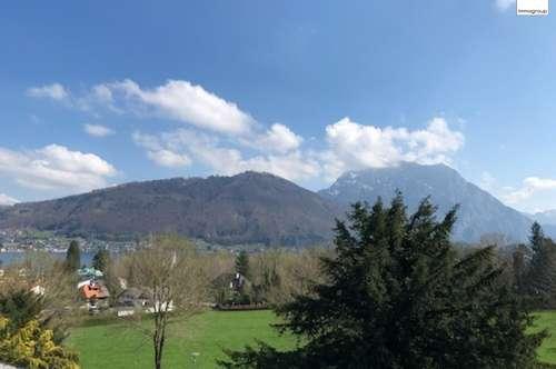 Top-gelegenes Baugrundstück mit Altbestand am Stadtrand von Gmunden in erhöhter Lage