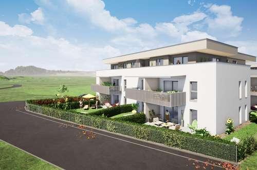 moderne Dachgeschoßwohnung mit sonniger Terrasse