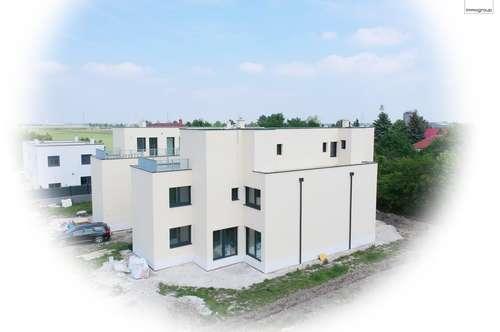 """Traumhafte Doppelhaushälfte - 6 Zimmer 170m² auf Eigengrund nur 200 m bis Wien """"Schlüsselfertig"""""""