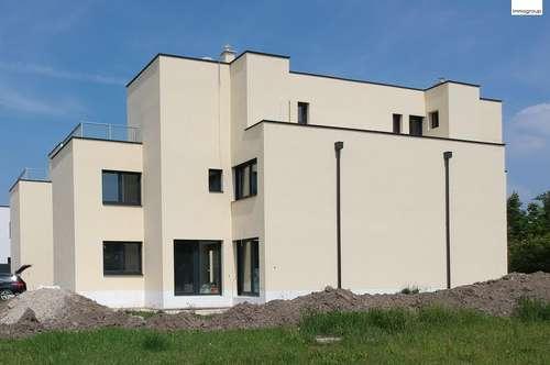 """Ziegelbau - Doppelhaushälfte 6 Zimmer 170m² auf Eigengrund nur 200 m bis Wien - """"Schlüsselfertig"""""""