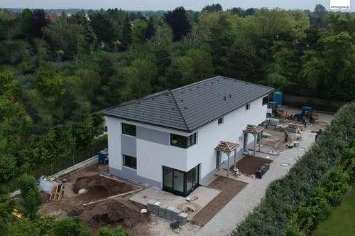 """DOPPELHAUSHÄLFTE """"Gänserndorf Süd"""" 128m² WNFl.- Ziegelbau mit Garten auf Eigengrund!"""