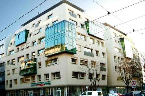 Moderne 117 m² Bürofläche/ Schauraum/ Geschäftslokal/ Fitnessstudio nahe Millenniumtower zu vermieten! Provisionsfrei