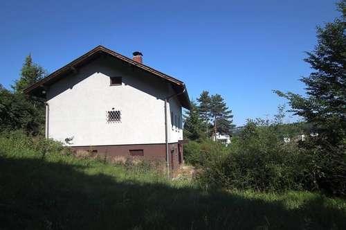 Gepflegtes Wohnhaus in idyllischer Waldrandlage