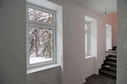 Wunderschöne Maisonette-Wohnung mit privatem Garten in zentraler Lage