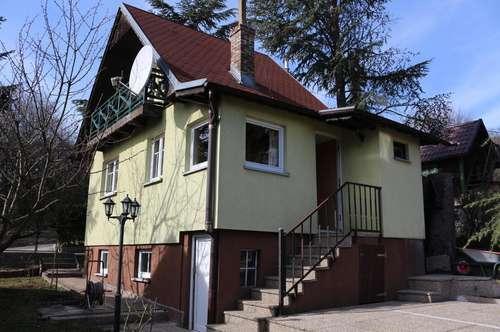 Kleingartenhaus mit Ausblick