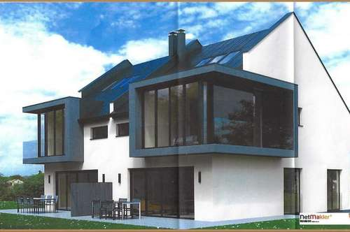 Haushälfte oder Einfamilienhaus in Moosburg zu verkaufen. Baubeginn Aug. 2019