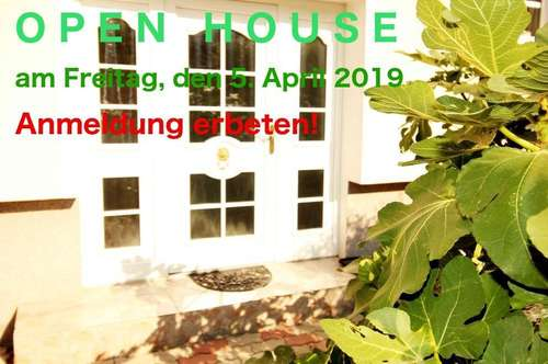 OPEN HOUSE  6 Zimmer, Garten mit Pool, Carport, riesige Werkstatt.....