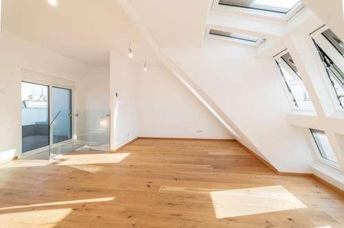 4 Zimmer Dachgeschoßmaisonette mit Whirpool und Fernblick sowie 2 Terrassen