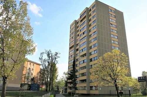 Leicht sanierungsbedürftige Familienwohnung mit Loggia - für Bestbieter