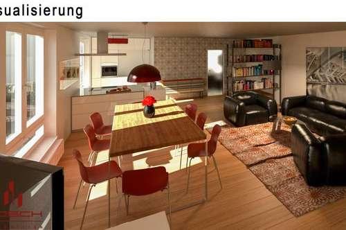 1, 2 oder 3, wieviele Zimmer wollen sie? Wo die Wände stehen bestimmen sie selbst. Die Wohnung ist bezugsfertig renoviert, vor Ort sehen sie div. Möglichkeiten der Raumgestaltung. Loftartiges Wohnfeeling mit Schlafnische, oder doch lieber eine Wand ?