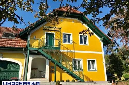Ruheoase am Land in Stadtnähe - Großzügige Wohnung mit Gartennutzung in schönem Anwesen