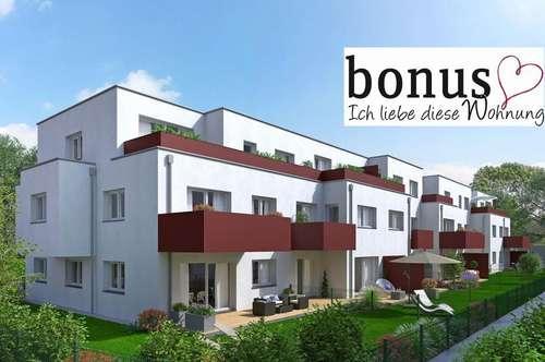 Geräumige 4-Zimmer Wohnung mit Balkon und 2 Garagenplätzen. Provisionsfrei vom Bauträger!