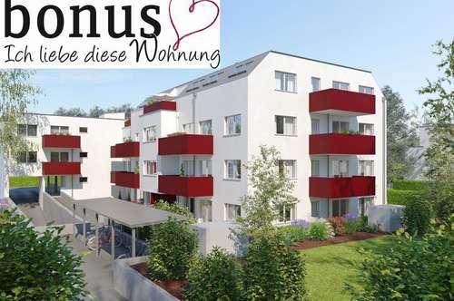 Traumhafte 3-Zimmer Wohnung mit Sonnenbalkon und Garagenplatz. Provisionsfrei!