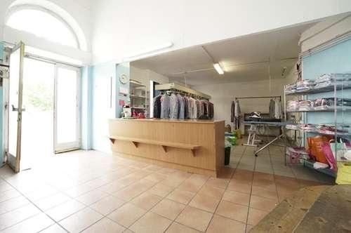 ***30 Jahre in Betrieb***Putzerei, Wäscherei an belebter Hauptstraße inkl. Wohnung