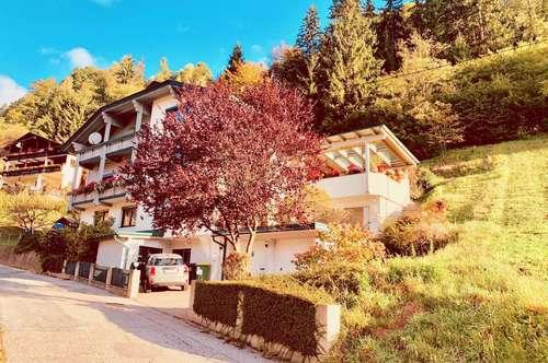 Wohnen und Rendite! Südwestseitiges Mehrfamilienhaus mit Südterrasse und herrlichem Panorama-Bergblick auch zur Anlage