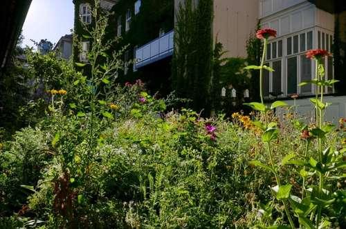 Absolute Grünruhelage! Moderne 3-Zimmer-Erstbezug-Wohnung mit Galerie und Südterrasse in historischem Gebäude