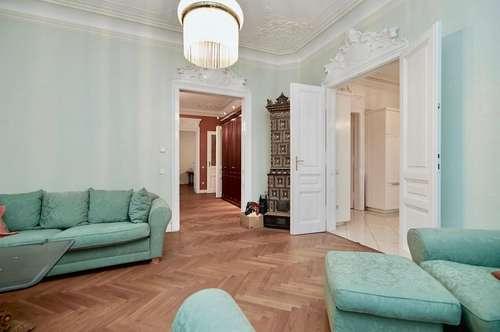 Exquisite 4-Zimmer-Bel-Etage im dritten Liftstock nahe Börse und Hof mit optionalem Garagenplatz