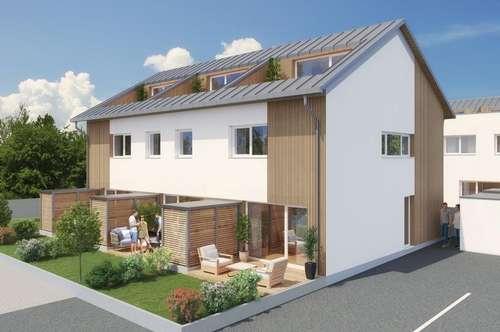 Trendvolle Reihenhäuser mit Dachterrasse zum Bestpreis!  Neubau in Straßwalchen!