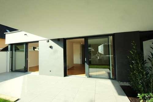 Erstbezug! Prächtige 3-Zimmer-Gartenwohnung mit 2 herrlichen Sonnenterrassen in PARSCH