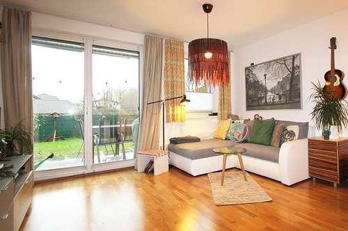 Adrette 2-Zimmer-Garten-Wohnung  in Bergheim