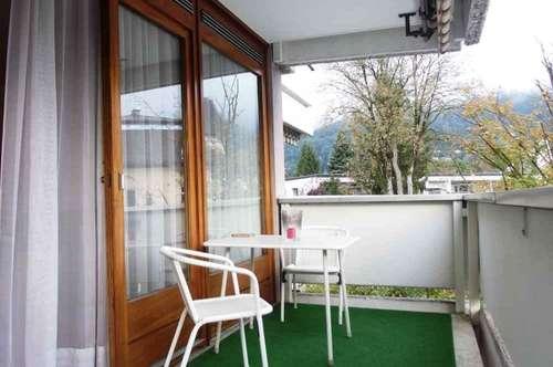 Ab sofort! Innsbruck-Saggen: Geräumige und möblierte Garconniere mit Frühstücksbalkon