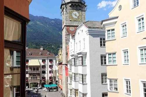 Wohnen in der Altstadt! Attraktive 2-Zimmer-Wohnung mit Blick aufs Goldene Dachl