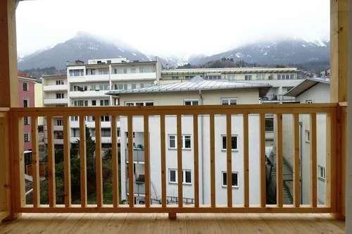 Attraktive 3-Zimmer-Wohnung mit Balkon und herrlicher Aussicht in INNSBRUCK-Mariahilf!