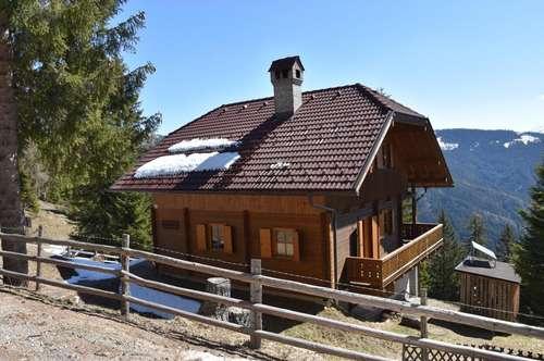 Sonne - Bergberührung - Panoramablick