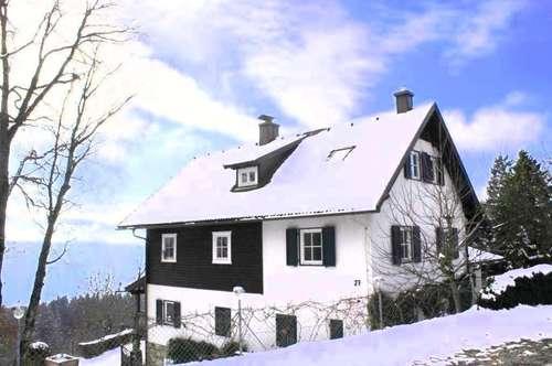 Das Anwesen trohnt über dem Millstätter See!