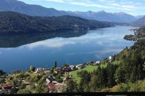 Traumhaft wohnen mit atemberaubendem Seeblick am Millstätter See
