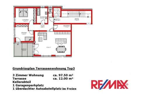 NEUBAUPROJEKT - Exklusive 3 Zimmer Terrassenwohnung mit Blick ins Grüne - provisionsfrei