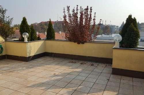 Kleine Wohnung mit großer Dachterrasse
