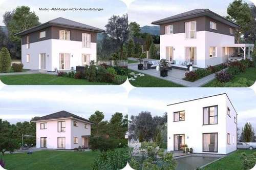 Randlage St.Pölten/Hart - Elkhaus und ebenes Grundstück (Wohnfläche - 117m² - 129m² & 143m² möglich)