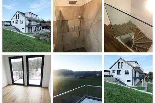 Randlage - Graz - Schöne Doppelhaushälfte mit Fußbodenheizung, Balkon, Terrasse und Carport