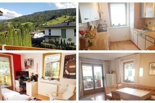 Bezirk Zell am See - Schöne Doppelhaushälfe mit Balkon, Keller, Terrasse und Carport