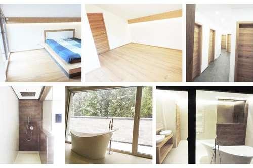 Bürmoos - Schöne Wohnung mit Dachterrasse und Carport